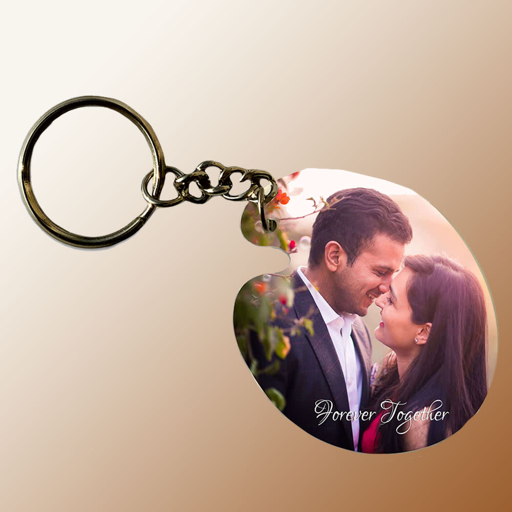 Personalized Couple Keychain