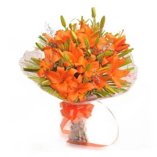 Asiatic-Orange-Lilly-Bouquet