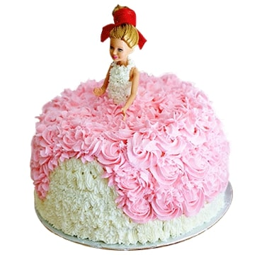Baby doll cake for birthday