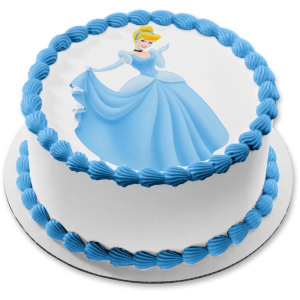 Awe Inspiring Baby Doll Cake Cinderella Doll Cake Send Baby Doll Cake Order Funny Birthday Cards Online Overcheapnameinfo