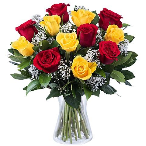 6-yelow-roses-6-red-roses