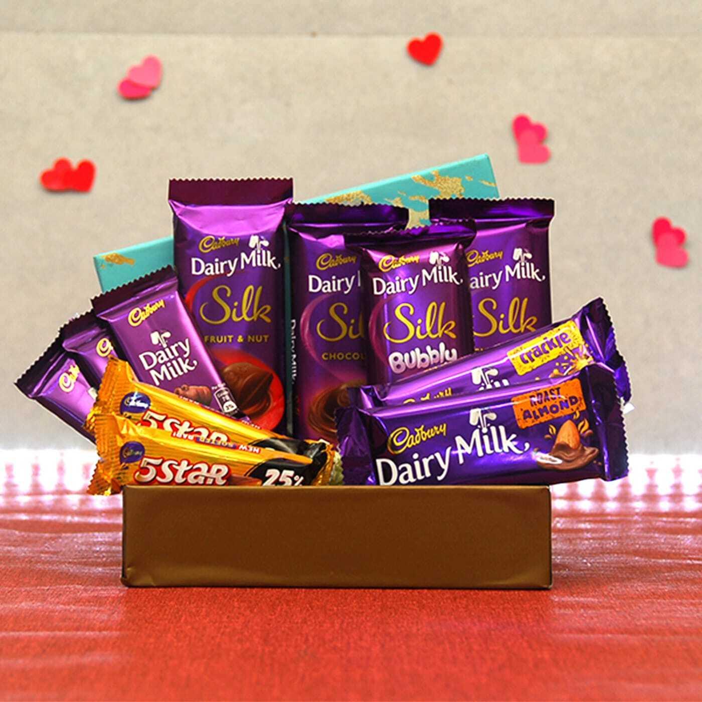Cadbury Chocolates in Gift Box