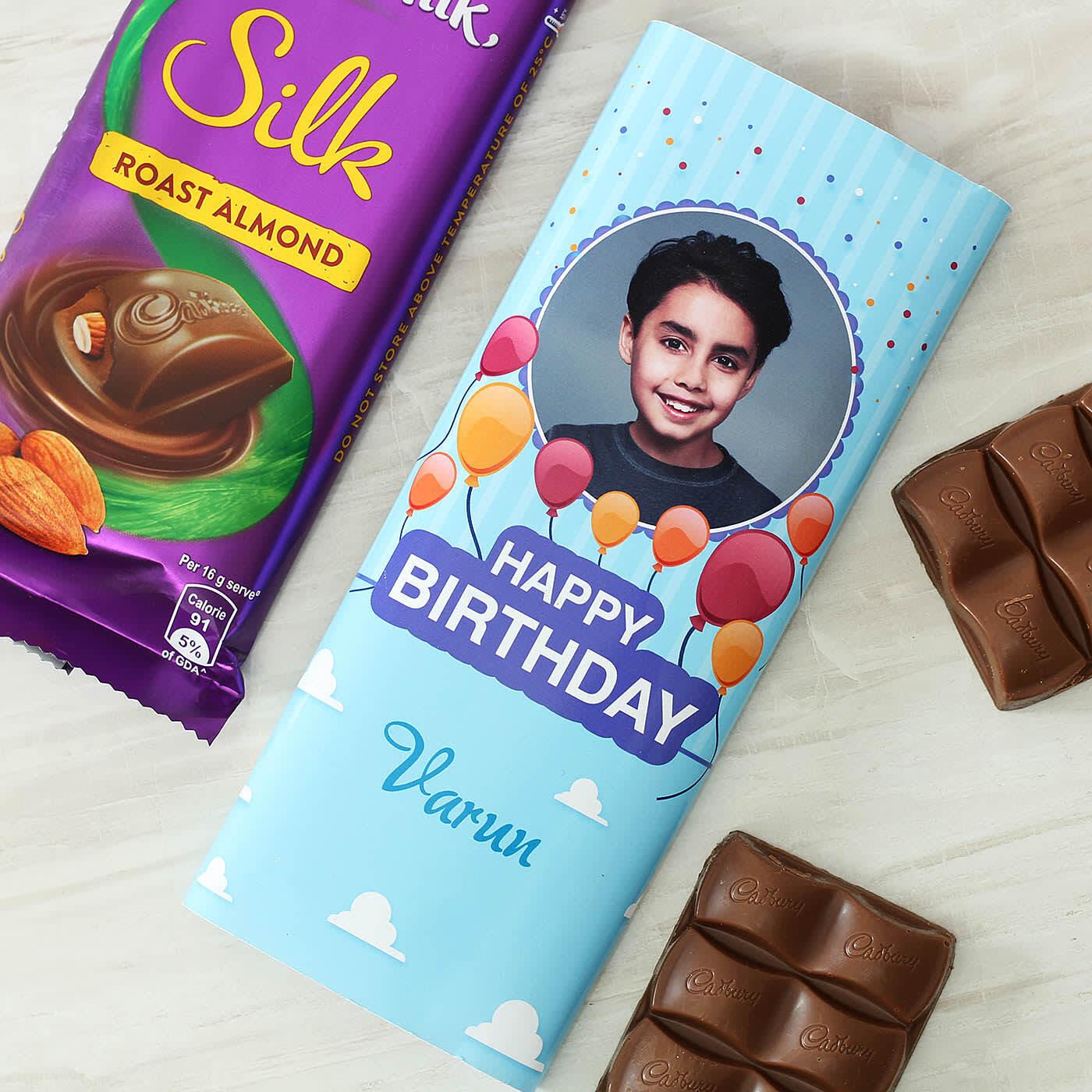 Cadbury Dairy Milk Silk Bar in Personalized Wrapper