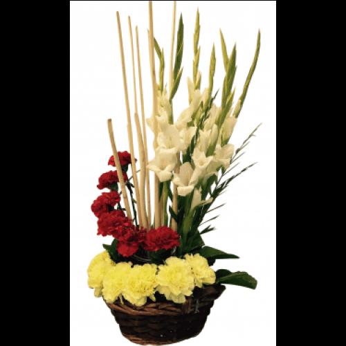Carnation-Flower-in-Bouquet