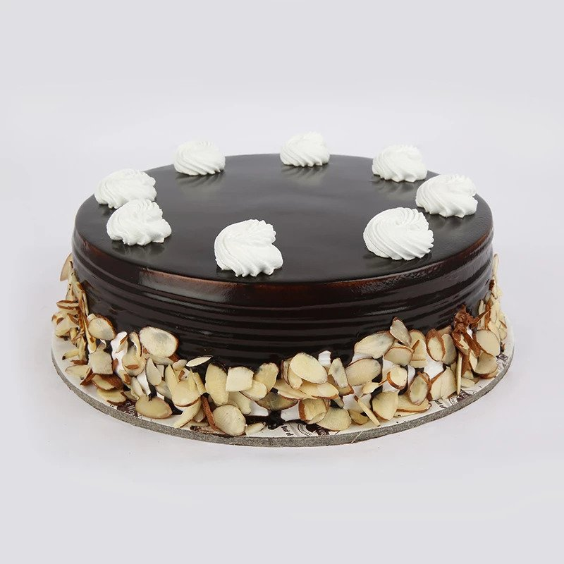 Chocolate Almond Fuse Cake