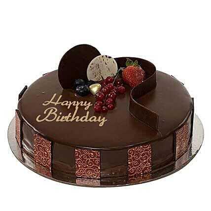 Premium Chocolate Birthday Cake