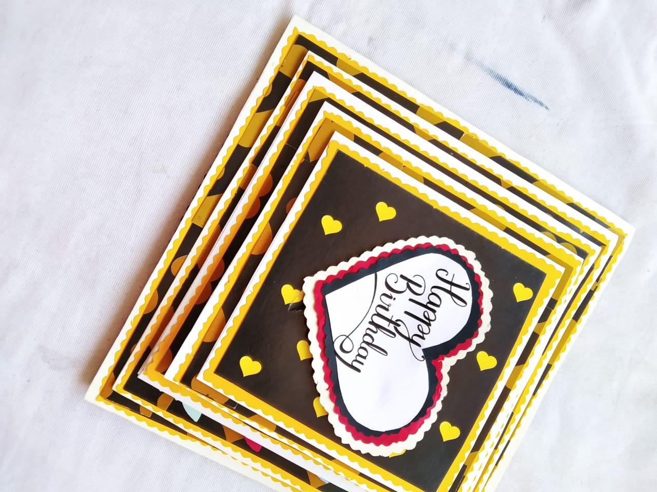 Customized Love Birthday Card