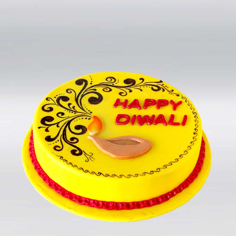 Happy Dipawali Cake
