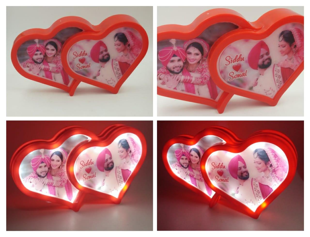 Heart Shap LED Photo Frame