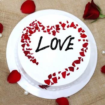 Heart Shape Special Love Cake