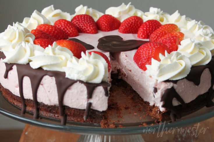Low Carb Strawberry Cheese Cake