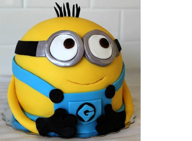 Mischievous Premium Minion Cake