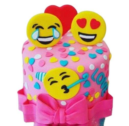 Mix Emoji Cake