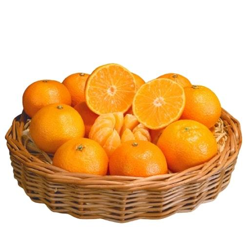 Orange Fruit With Basket