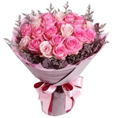 pink-rose-bouquet