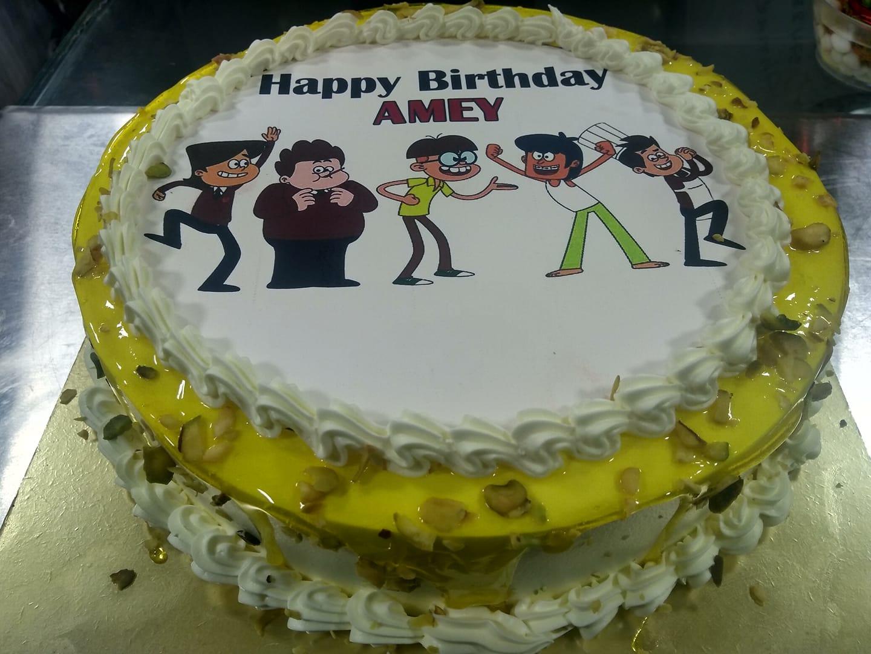 Rasmalai Photo Cake