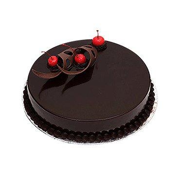 Special Chocolate Truffle Cake Eggless