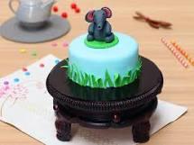 Sweet Small Elphant Cake