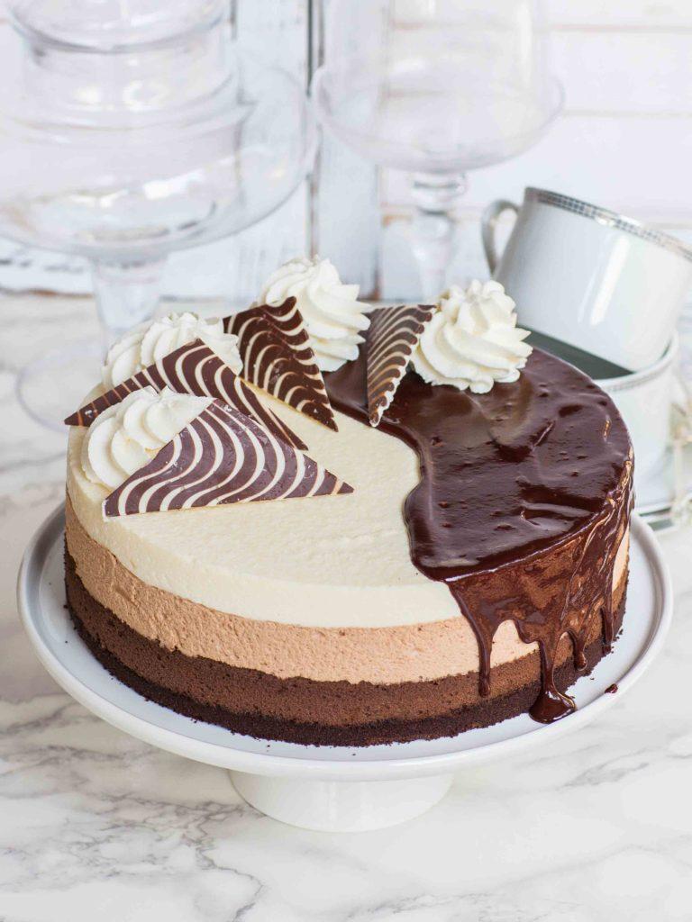 Triple Chocolate Cheese Cake