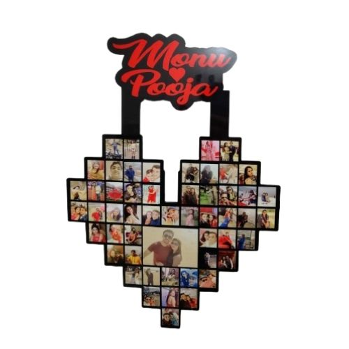 Customize Heart Frame with Name
