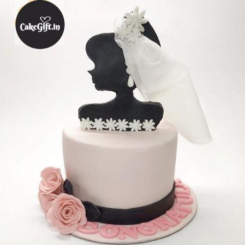 Bride Shower Cake
