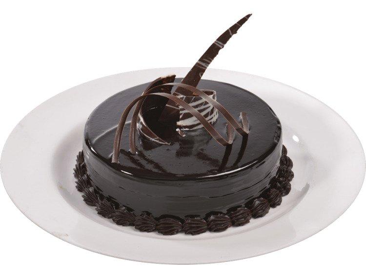 Chocolate Truffle Cake Eggless