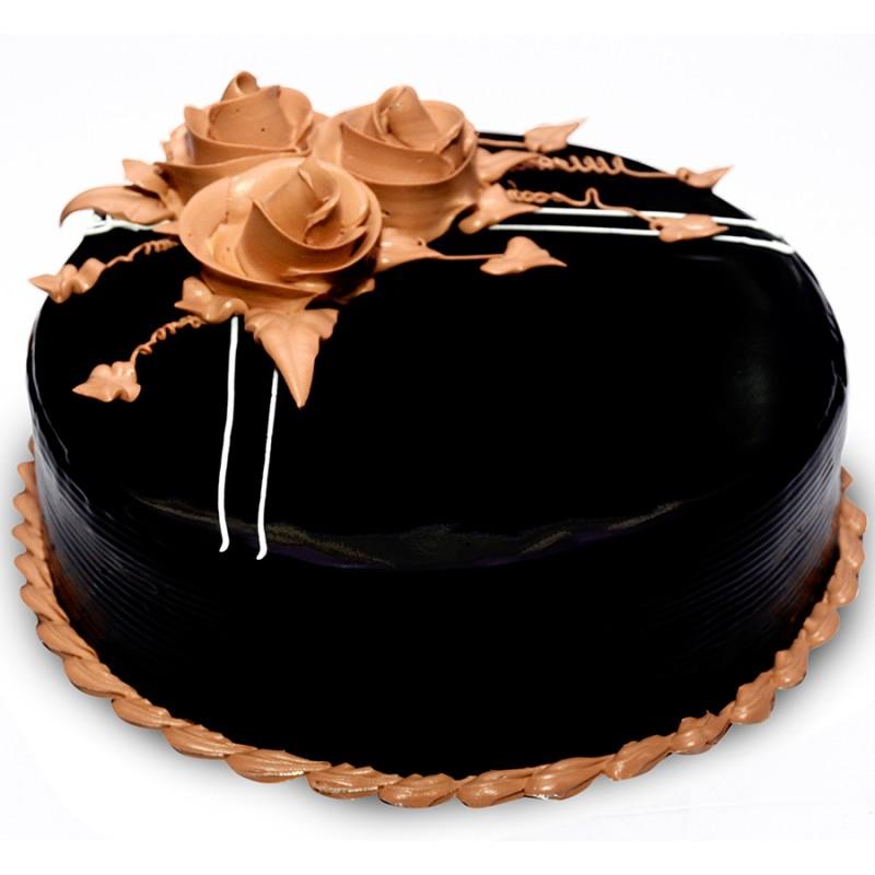 Cute Chocolate Truffle Cake