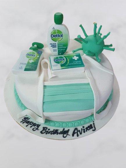 Covid Special Cake