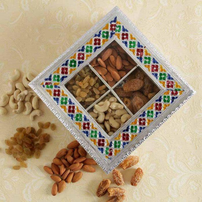Handicraft Designer Dry Fruit Gift Box