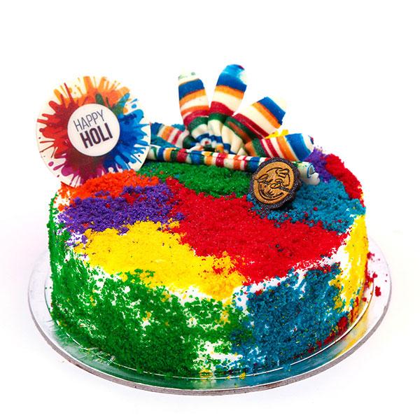 holi-cake-colorful