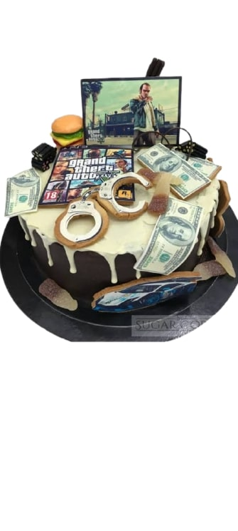 Grand Thefg Auto Theme Cake