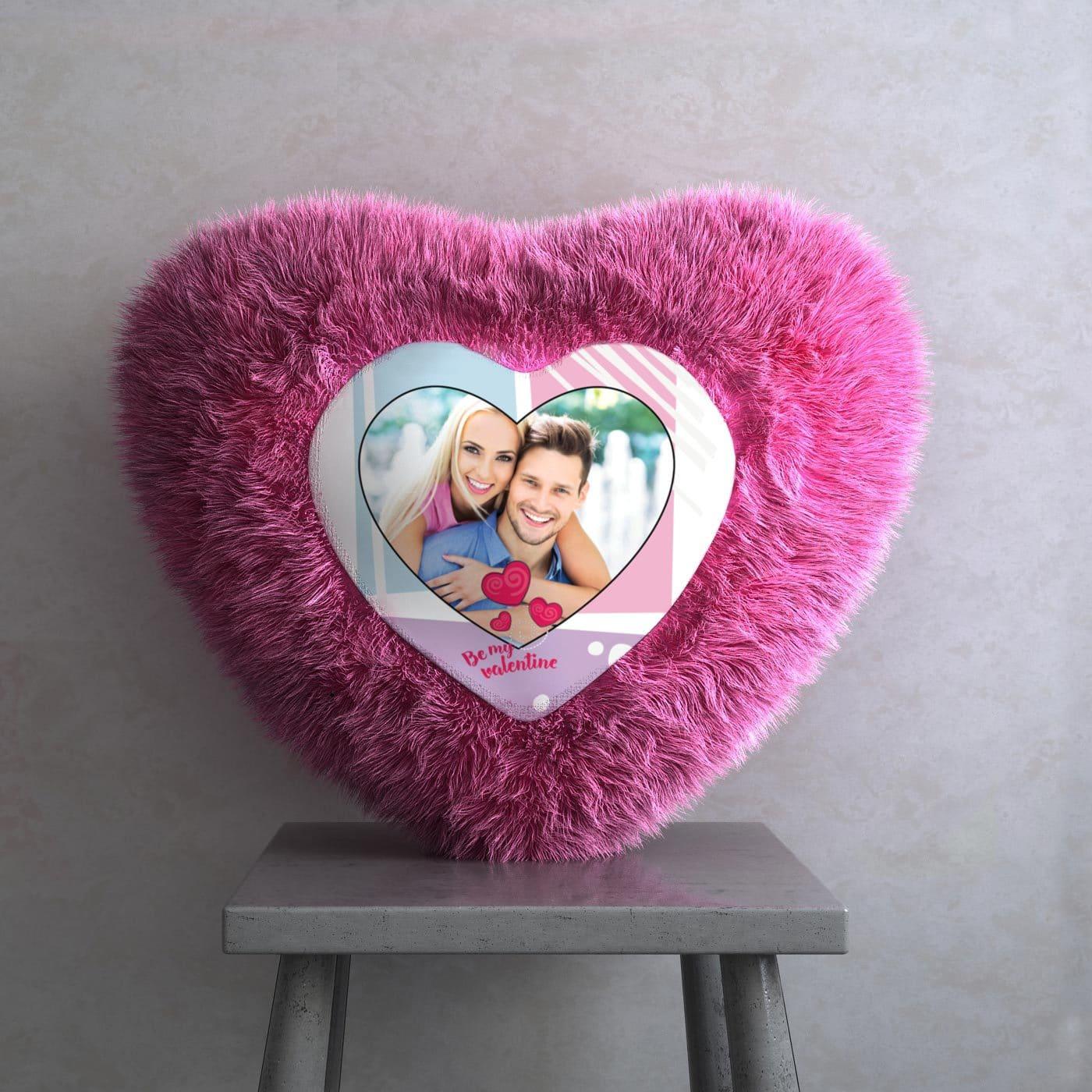 Valentin Heart Shaped Cushion