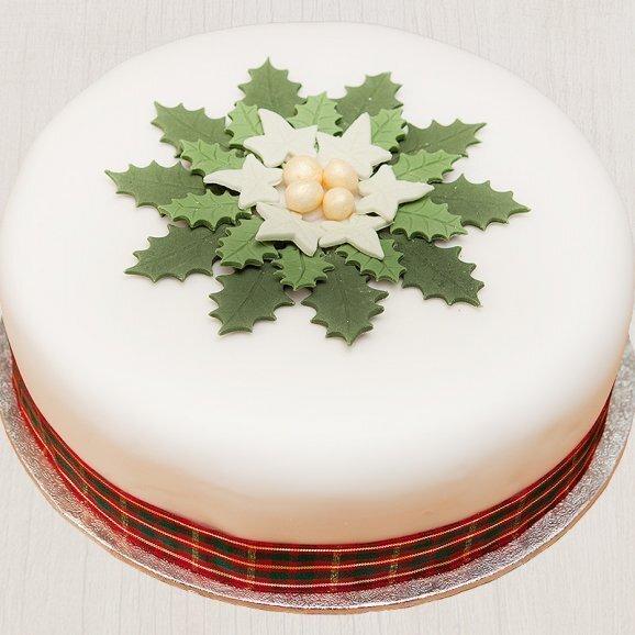 starry delight-christmas cake