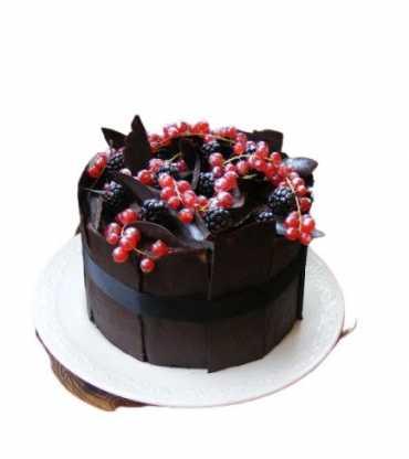 Dark Chocolate Black Forest Cake