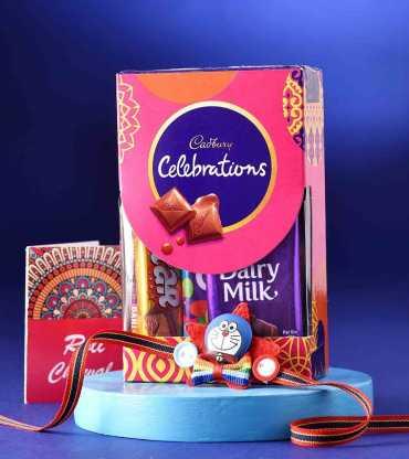 Doremon Rakhis With Cadbury Celebrations