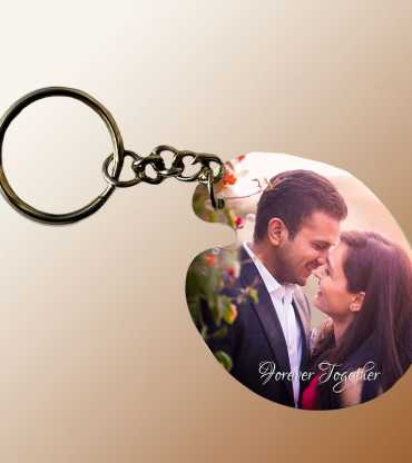 Personalized Couple Keychain