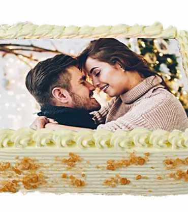 Butter Scotch Photo Cake