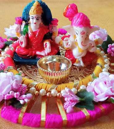 Decorative Laxmi Ganesh