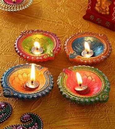 Diwali Diya Set