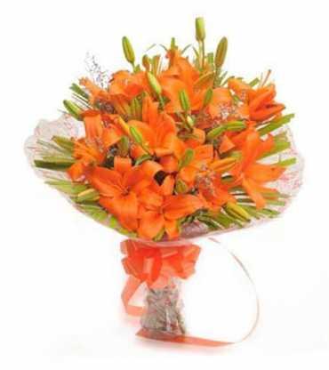 Asiatic-Orange-Lilly-Bouquet