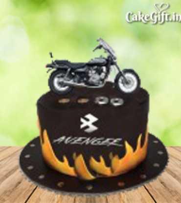 Avenger Bike Cake