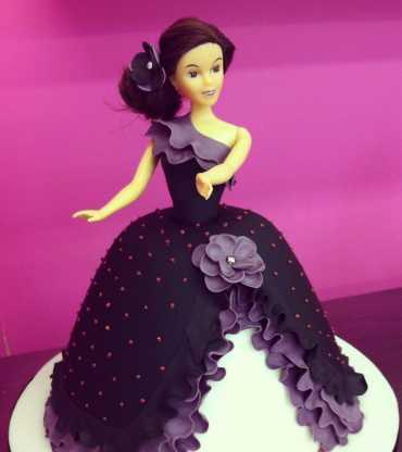Barbie Doll Cake Flamenco style
