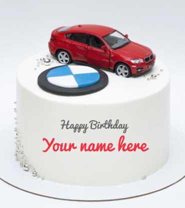 B M W Car Cake