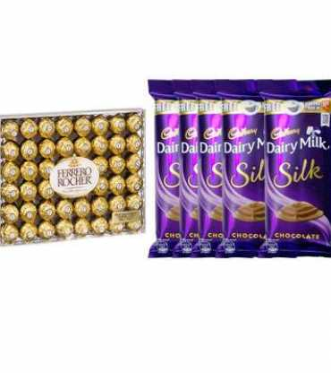 Yummy-Ferrero-Rochers-and-Dairy-Milk