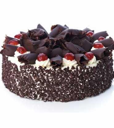 Choco Chip Black Forest Cake