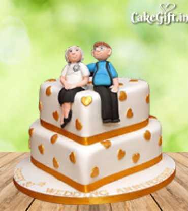 Couple-Anniversary-Cake