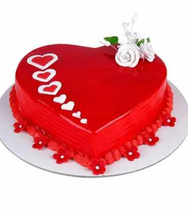 Delight Love Heart Shape Cake