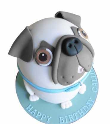 Dog Design Cake