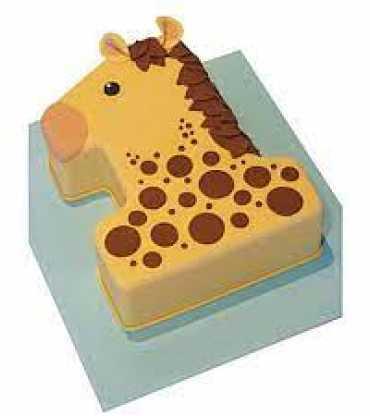 Girafe Chocolate cake