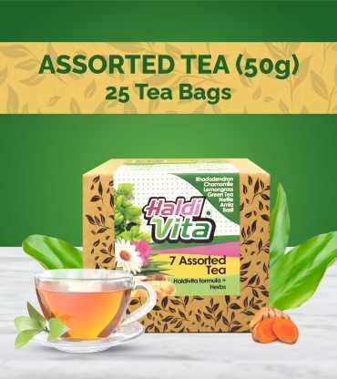 Haldivita Assorted Tea-7 Flavors